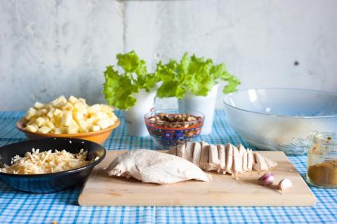 Курица в утятнице в духовке рецепт с пошаговый 16